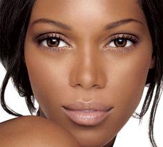 nude-makeup-look-for-black-women