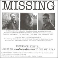 Bruxa desaparecidos