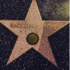 Backstreet Boys é a única boy band a ter uma estrela na calçada da fama. Eu fiz questão de tirar uma foto quando estive em Los Angeles